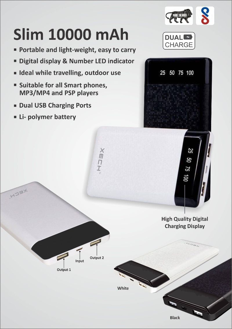 Power Banks : Slim power banks for corporate promotional events